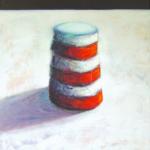 Elément T2, huile sur bois, 160 x 120 cm, 2000