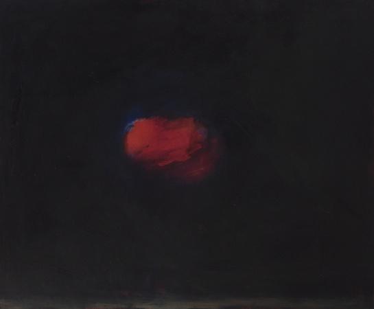 Elément, huile sur bois, 100 x 120 cm, 2012