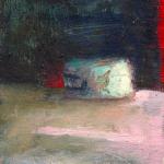 Elément, huile sur bois, 12 x 11 cm, 1999