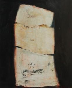 Elément, huile sur bois, 120 x 100 cm, 1999