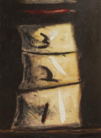 Eléments 1, 2, 3, huile sur bois, 120 x 100 cm, 1999