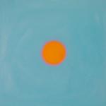 Empreinte 3, huile sur bois, 30 x 30 cm, 2010