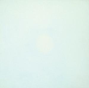 Empreinte 5, huile sur bois, 30 x 30 cm, 2010