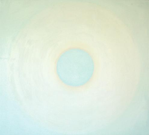 Empreinte rétinienne, huile sur bois, 100 x 110 cm, 2010
