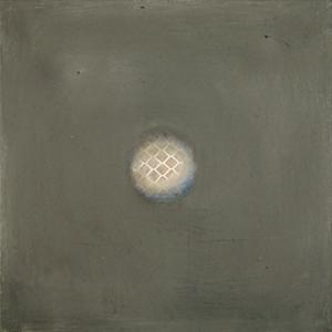 Etincelle 1, huile et cire sur bois, 13 x 13 cm, 2006