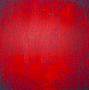 Etincelle 11, huile et cire sur bois, 13 x 13 cm, 2006