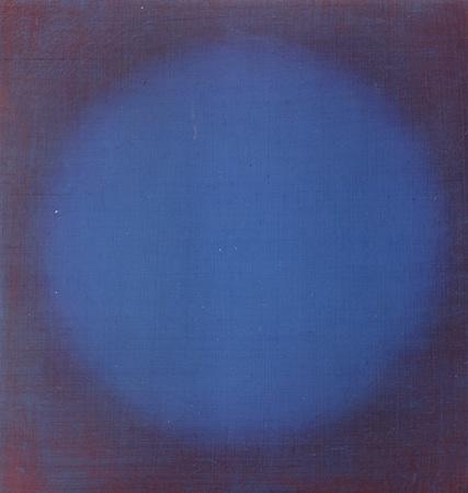 Expansion, huile sur bois, 30 x 30 cm, 2009