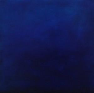 Flux 1, huile sur bois, 30 x 30 cm, 2010