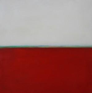 Flux 10, huile sur bois, 30 x 30 cm, 2010