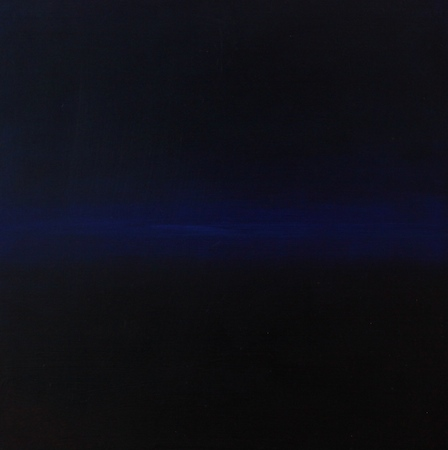 Flux 2, huile sur bois, 30 x 30 cm, 2010
