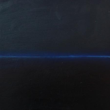 Flux 3, huile sur bois, 30 x 30 cm, 2010