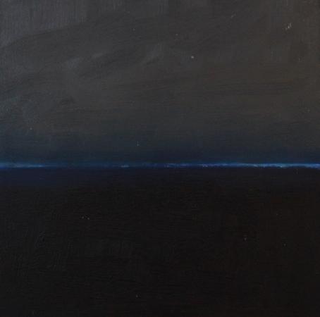 Flux 4, huile sur bois, 30 x 30 cm, 2010