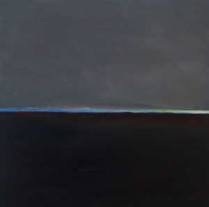 Flux 5, huile sur bois, 30 x 30 cm, 2010