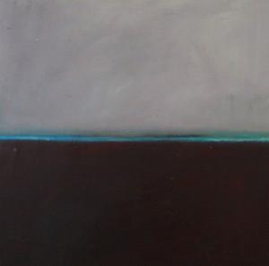 Flux 7, huile sur bois, 30 x 30 cm, 2010