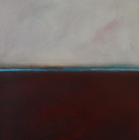 Flux 8, huile sur bois, 30 x 30 cm, 2010