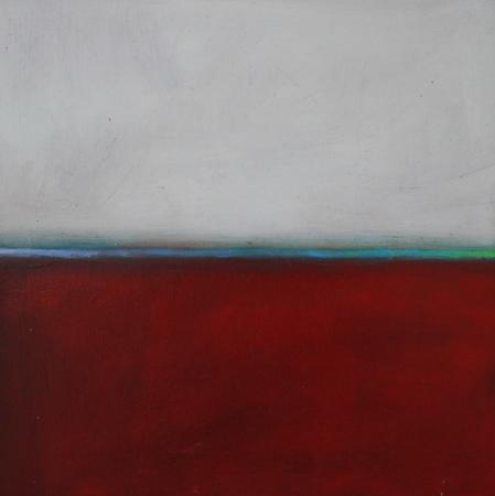 Flux 9, huile sur toile, 30 x 30 cm, 2010