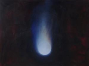 La Chute, huile sur bois, 120 x 160 cm, 2010