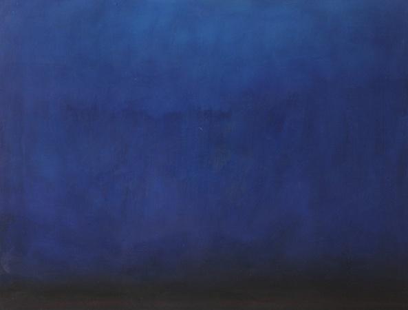 Les Grands Fonds, huile sur bois, 120 x 160 cm, 2010