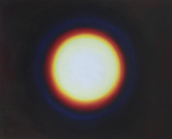 Mémoire rétinienne 1, huile sur bois, 90 x 110 cm, 2010