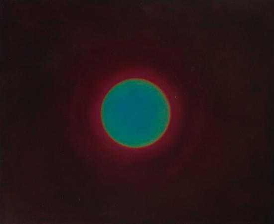 Mémoire rétinienne 3, huile sur bois, 90 x 110 cm, 2010