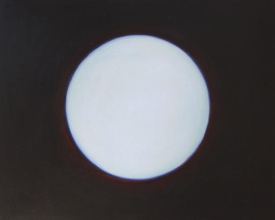 Ouverture 1, huile sur bois, 100 x 120 cm, 2000