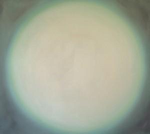Ouverture 4, huile sur bois, 100 x 110 cm, 2000
