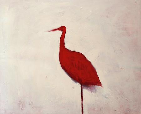 Phoenix, huile sur bois, 90 x 110 cm, 2013