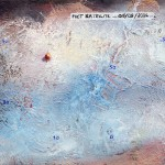 Pictsatellite 21, huile sur carton, 13 x 16 cm, 2004