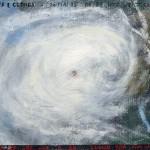 Pictsatellite 23, huile sur carton, 13 x 16 cm, 2005