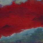 Pictsatellite 38, huile sur carton, 13 x 16 cm, 2013