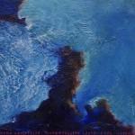 Pictsatellite 40, huile sur carton, 13 x 16 cm, 2013