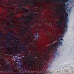 Pictsatellite 54, huile sur carton, 13 x 16 cm, 2013