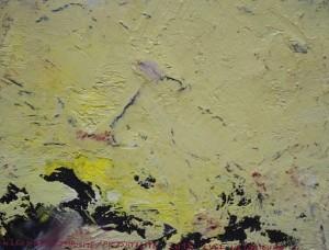 Pictsatellite 57, huile sur carton, 13 x 16 cm, 2013
