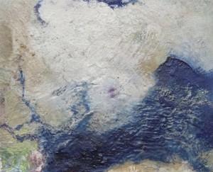 Pictsatellite 58, huile sur carton, 13 x 16 cm, 2013