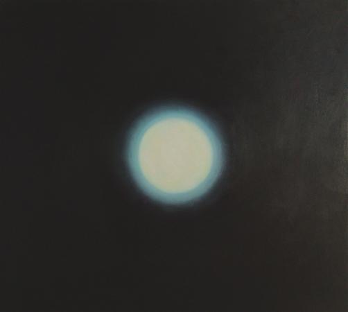 Rétractation, huile sur bois, 100 x 110 cm, 2003