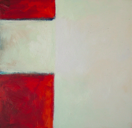 Sans titre 2, huile sur bois, 30 x 30 cm, 2002