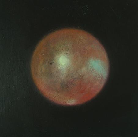 Sans titre 2, huile sur bois, 30 x 30 cm, 2007