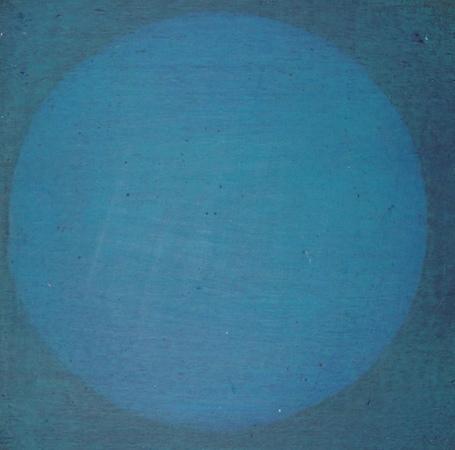 Sans-titre, huile sur bois, 13 x 13 cm, 2002