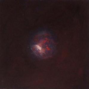Sans titre, huile sur bois, 30 x 30cm, 2008