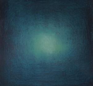 Sphère, huile sur bois, 30 x 30 cm, 2006